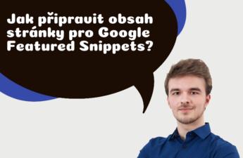 jak připravit obsah stránky pro Google Featured Snippets?
