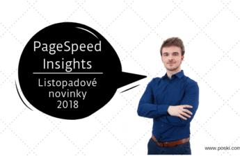 Novinky v nástroji pro měření rychlosti načítání stránek - page speed insights