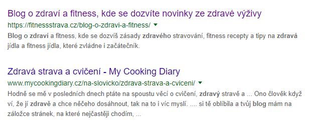 Blogeři z vyhledávače