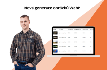 Generace obrázků WebP