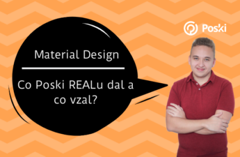 Material design Poski real