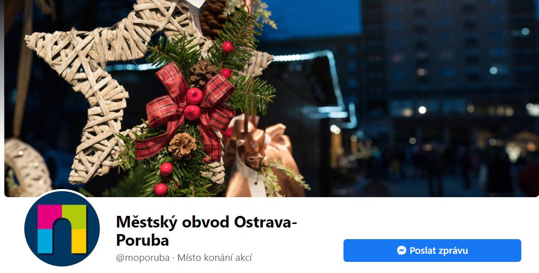 vánoční úvodní fotografie na faceboooko