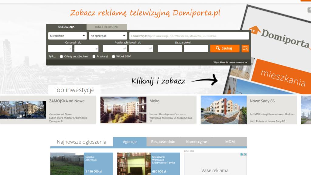 Inzertní web Polsko